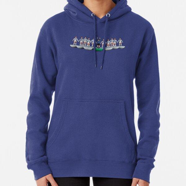 Huddersfield Town/Kilmarnock subbuteo inspired design Pullover Hoodie