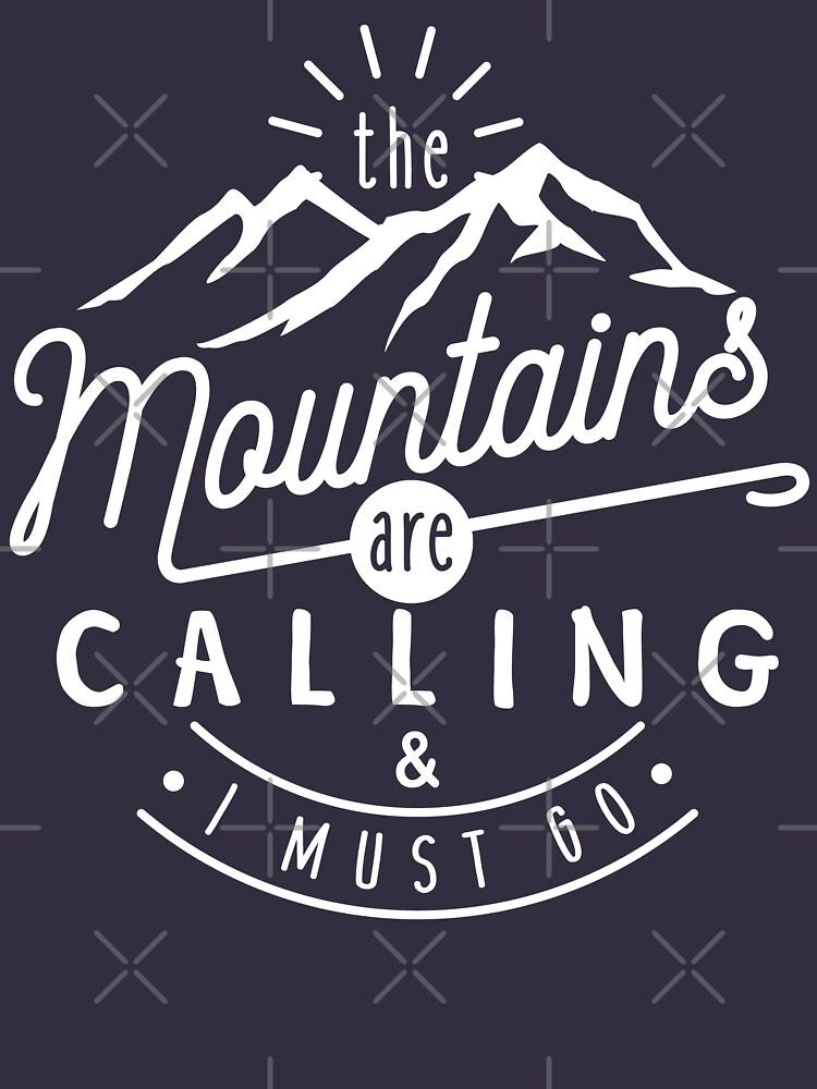 Las montañas están llamando y debo irme de TeeVision