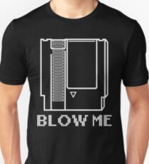 Blow Me - Video Game Cartridge T-Shirt