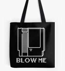 Blow Me - Video Game Cartridge Tote Bag