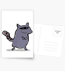 racoon Postcards