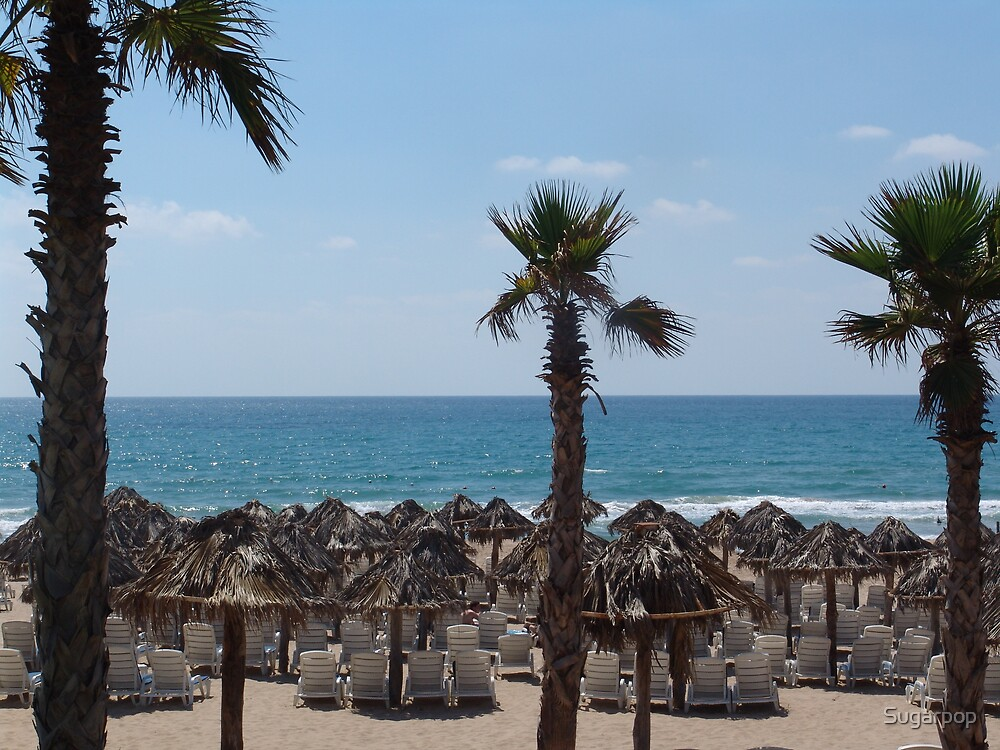 Rmeyleh beach by Sugarpop