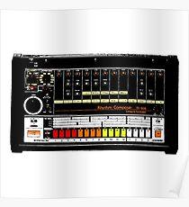 Roland Tr-808 Drum Machine Poster