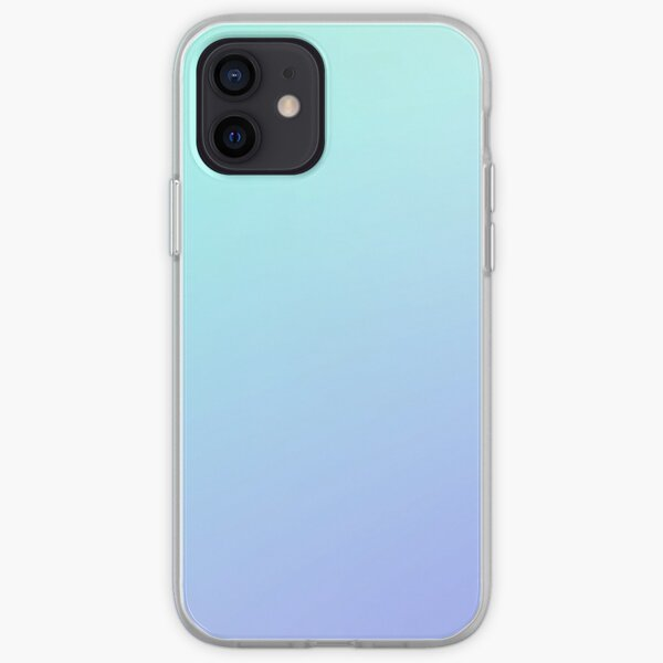 VIOLET ICE - Plain Color iPhone Case and Other Prints iPhone Soft Case