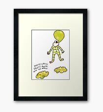 'Snotty Boy Bubbles' Framed Print
