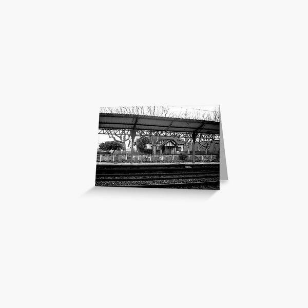 Dark rails II Greeting Card