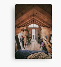 Off the Grid - Catskills Cabin Canvas Print