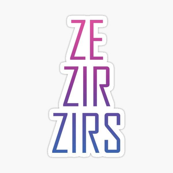 Ze Zir Bi Pride Sticker