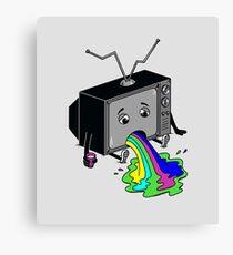 Vomit TV Canvas Print