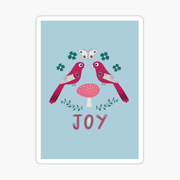 Birds of joy Sticker