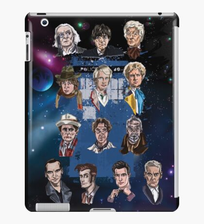 Lords of Time Collective iPad Case/Skin