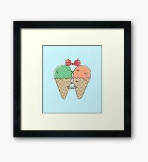 Sweet Kiss Framed Print
