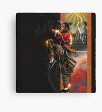 Kung Fu Kenny Canvas Print