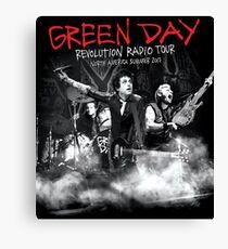 day green tour Canvas Print