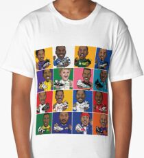 NBA Legends Shoes Long T-Shirt