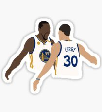Kevin Durant And Stephen Curry Sticker