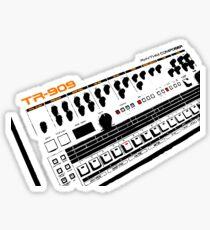 Roland Tr-909 Drum Machine Sticker
