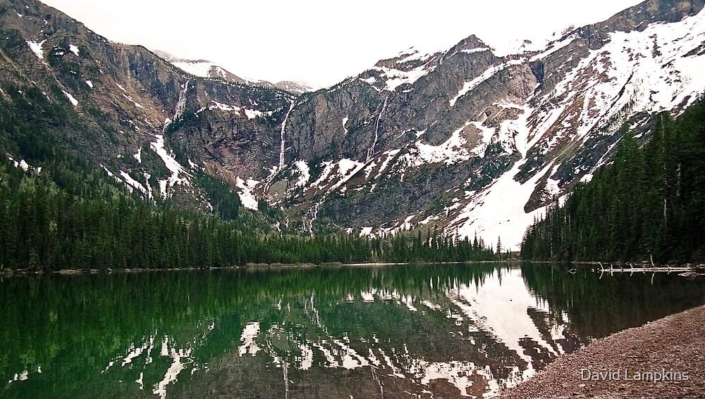 Avalanche Lake by David Lampkins