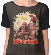 Donkey Kong - King of the Jungle Women's Chiffon Top