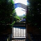 Gate to the Old Church, Grianan, Donegal, Ireland by Shulie1