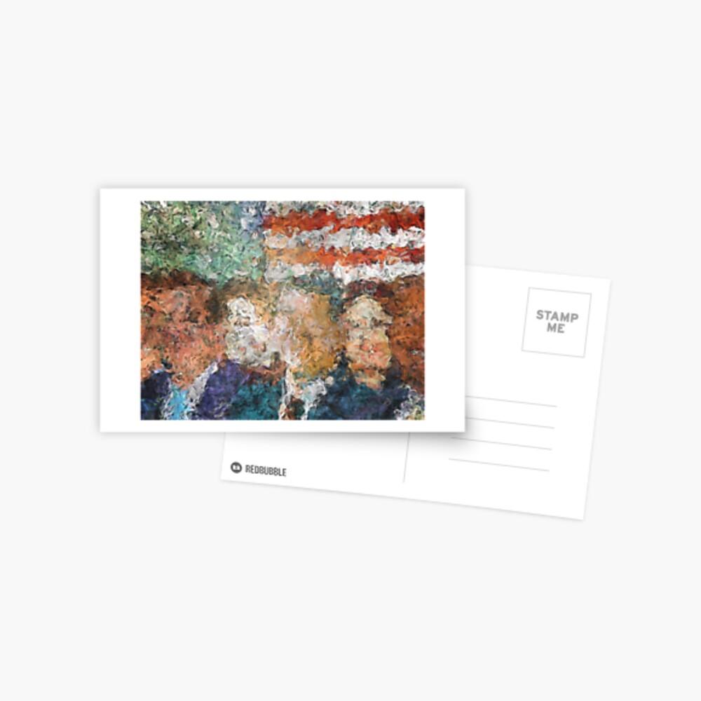 Patriots Gathering Postcard