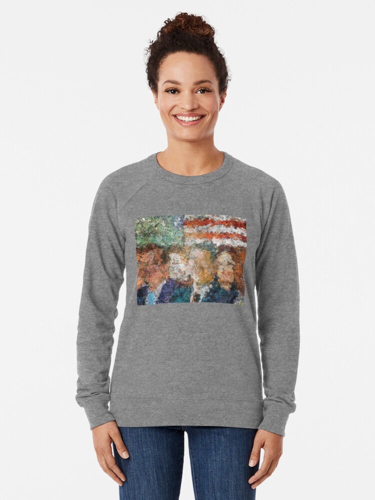 Alternate view of Patriots Gathering Lightweight Sweatshirt