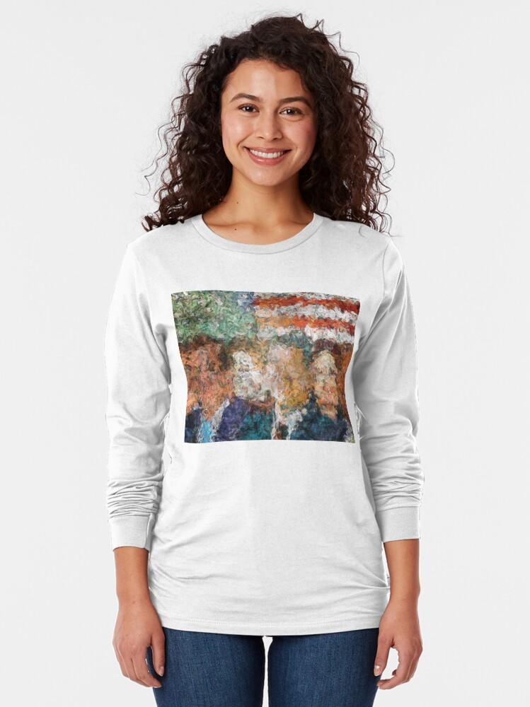 Alternate view of Patriots Gathering Long Sleeve T-Shirt