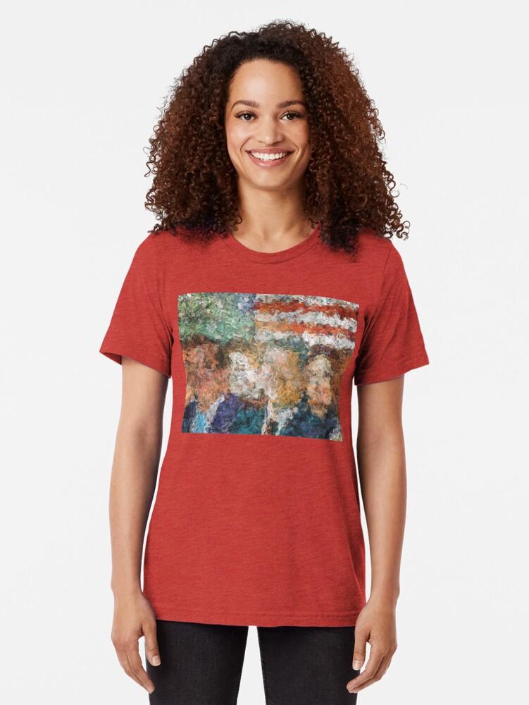 Alternate view of Patriots Gathering Tri-blend T-Shirt