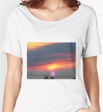 purple sun Women's Relaxed Fit T-Shirt