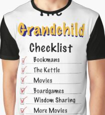 Grandchild Checklist  Graphic T-Shirt