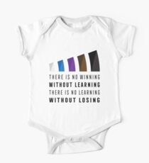 There Is No Winning Without Learning Shirt One Piece - Short Sleeve