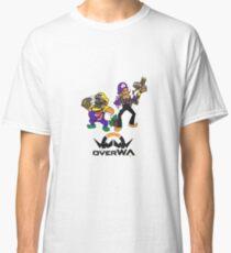 OverWA - Wario and Waluigi Overwatch Tee Classic T-Shirt
