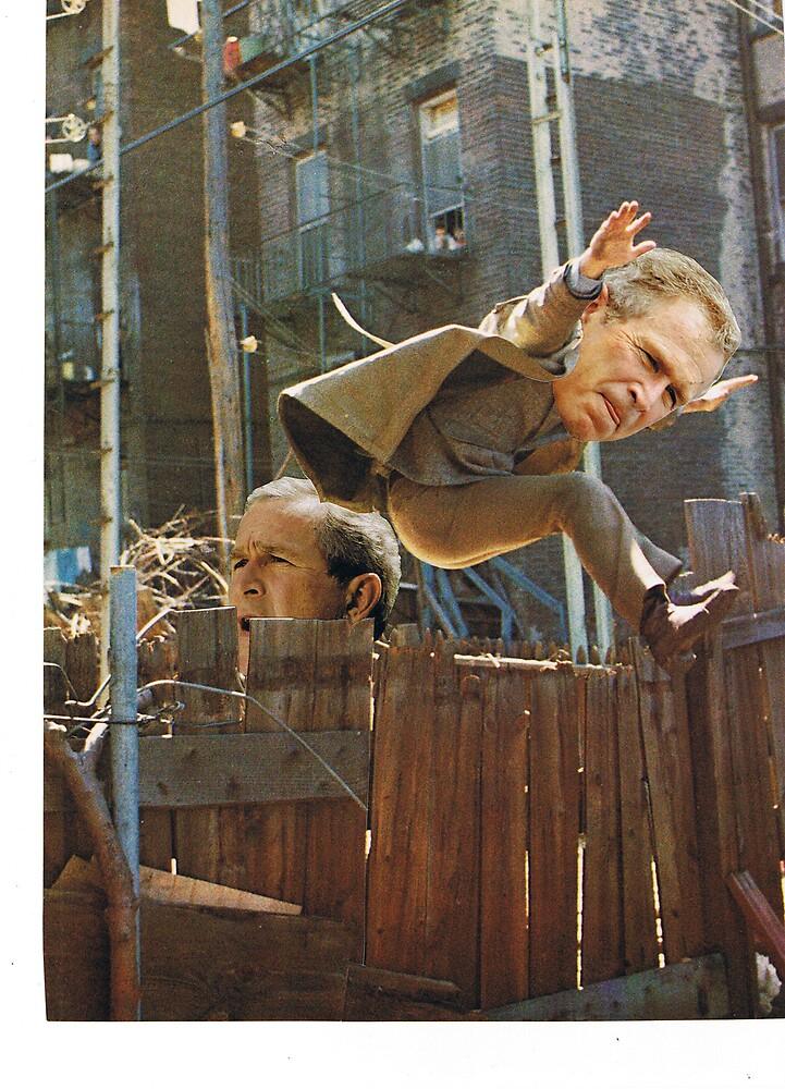Bush Doppelganger by atomikboy