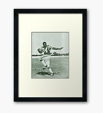 George Reed #34 Framed Print