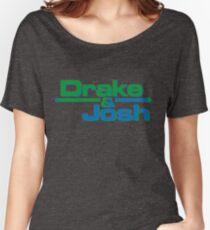 Camiseta ancha para mujer Drake y Josh Calcomanías