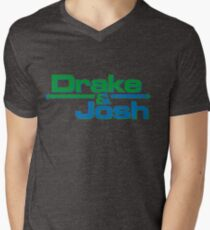 Drake and Josh Stickers Men's V-Neck T-Shirt