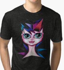 Carnaval Girl Portrait Tri-blend T-Shirt