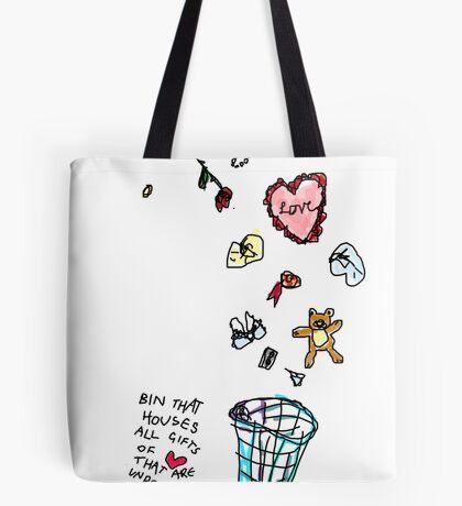 Unreciprocated Love Bin Tote Bag