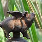 Flying Pig in Rust by Zephyrme