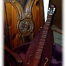 My mountain dulcimer by Judi Taylor