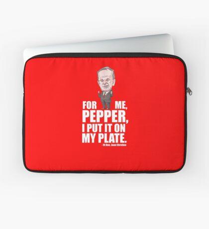 Jean Chretien Pepper Quote Laptop Sleeve