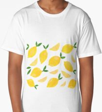 Cut + Paste Lemon Pattern Long T-Shirt
