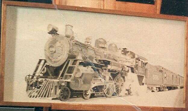 Locomotive and train by dummy