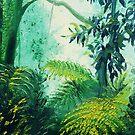Rainforest Lights and Shadows  by BluedarkArt