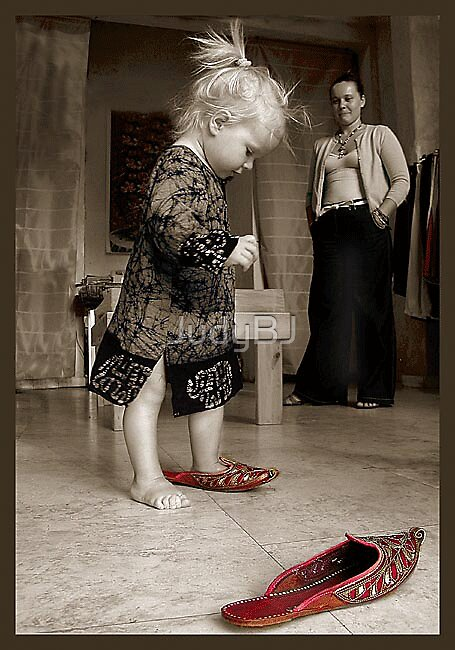 On woman & shoes by JudyBJ