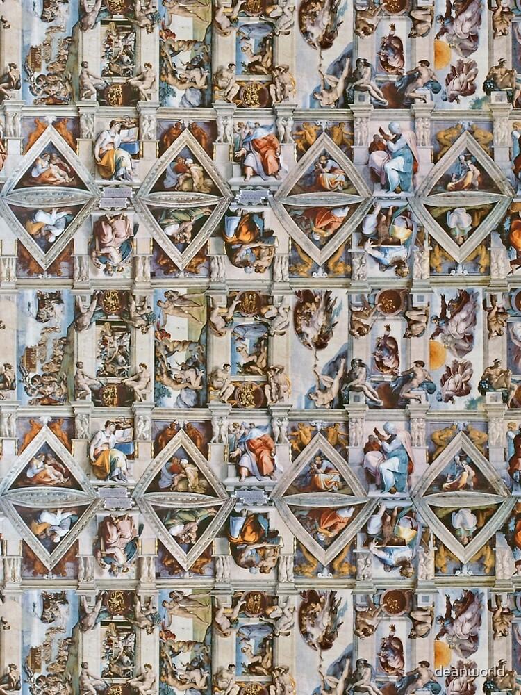 Michaelangelo - Sistine Chapel Ceiling by deanworld