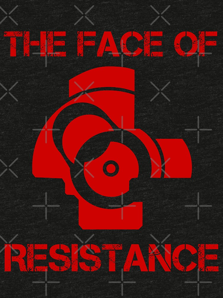 The (bolt) Face of Resistance by bakerandness