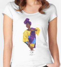 Oké Women's Fitted Scoop T-Shirt