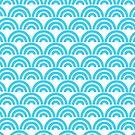 Half Circle Pattern by HandDrawnTees