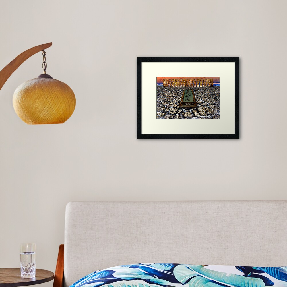 Dust to Dust Framed Art Print